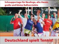 Deutschland spielt Tennis am 27. April 2014 ab 13 Uhr