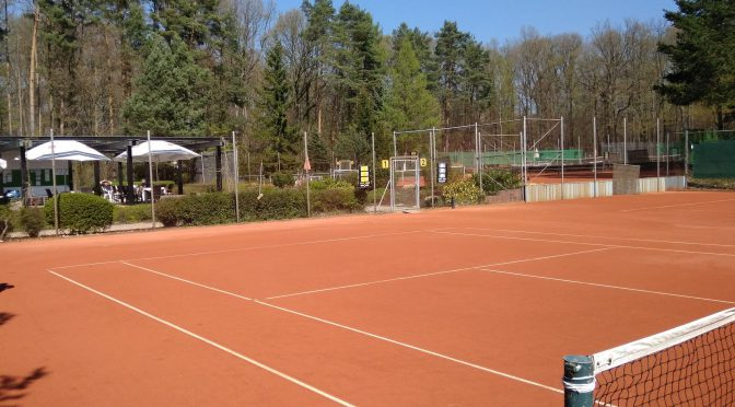 Update: Freigabe der Tennisplätze 2.0