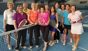 Tennisdamen des 1. SC Kohlheck