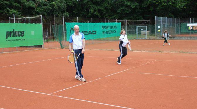 Tennistraining beim 1. SC Kohlheck