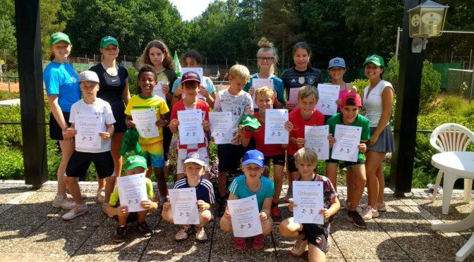 Spiel und Spaß: Das Tennis Sommercamp 2019