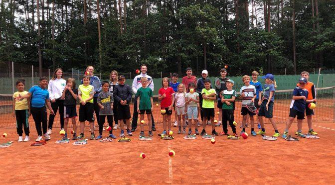 Sommercamp in der letzten Ferienwoche mit über 20 Teilnehmern